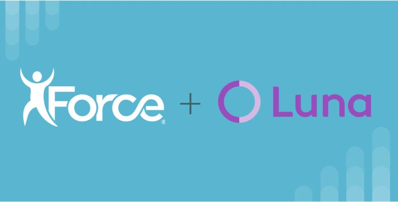 Luna and Force Therapeutics Partnership graphic